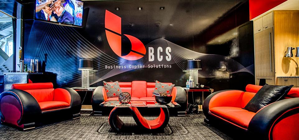 Business Copier Solutions Luxury Suite at Petco Park